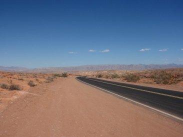 The desert, 2009